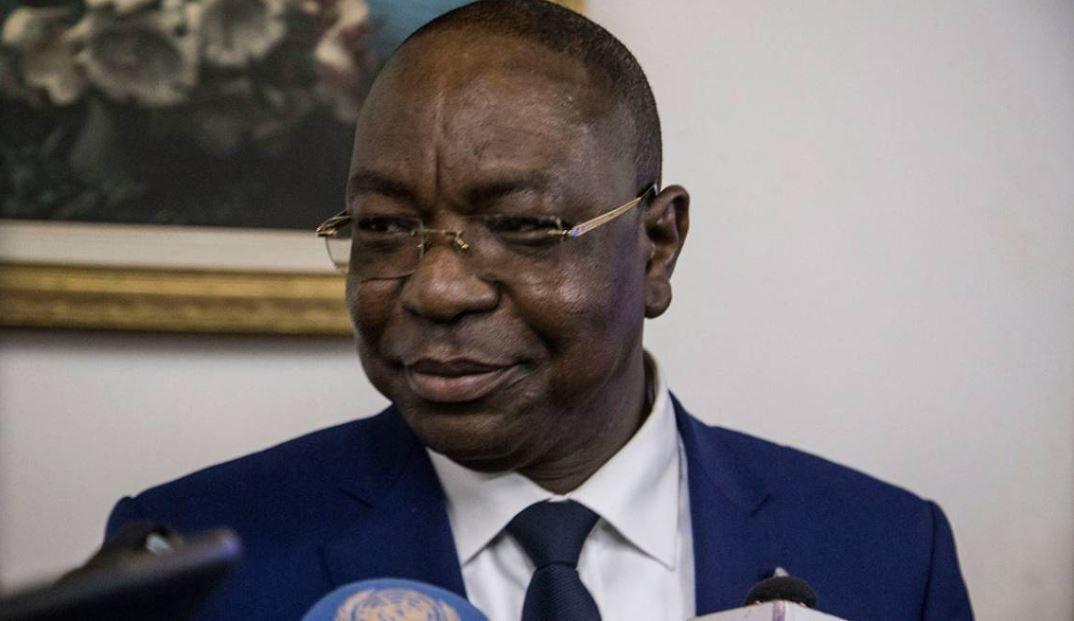Mankeur Ndiaye reçu par le Président de La RCA