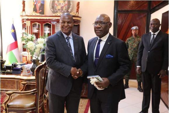 Le Président Touadera reçoit les anciens PM (suite)
