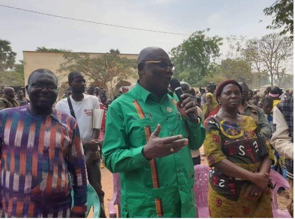 Le député et Président du MLPC menacé de mort par des bandits de 3R