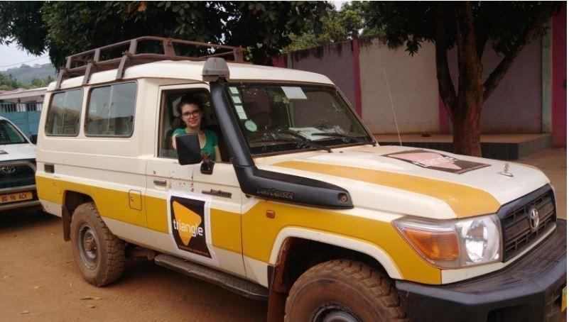 Originaire de Seine-Maritime, Louise est travailleuse humanitaire en Centrafrique