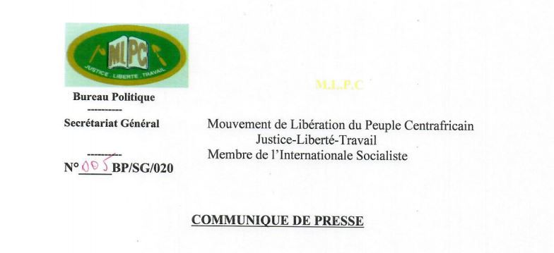 LE MLPC RESPECTE ET SALUE L'AVIS DE LA COUR CONSTITUTIONNELLE