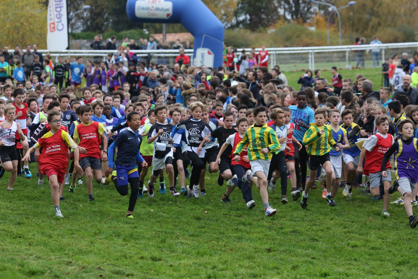Les photos du cross départemental scolaire