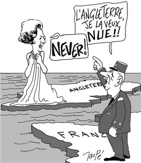 Angleterre : never  !