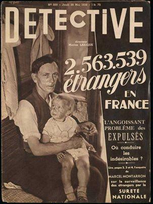 """La une de """"Détective"""" du 26 Mai 1938"""