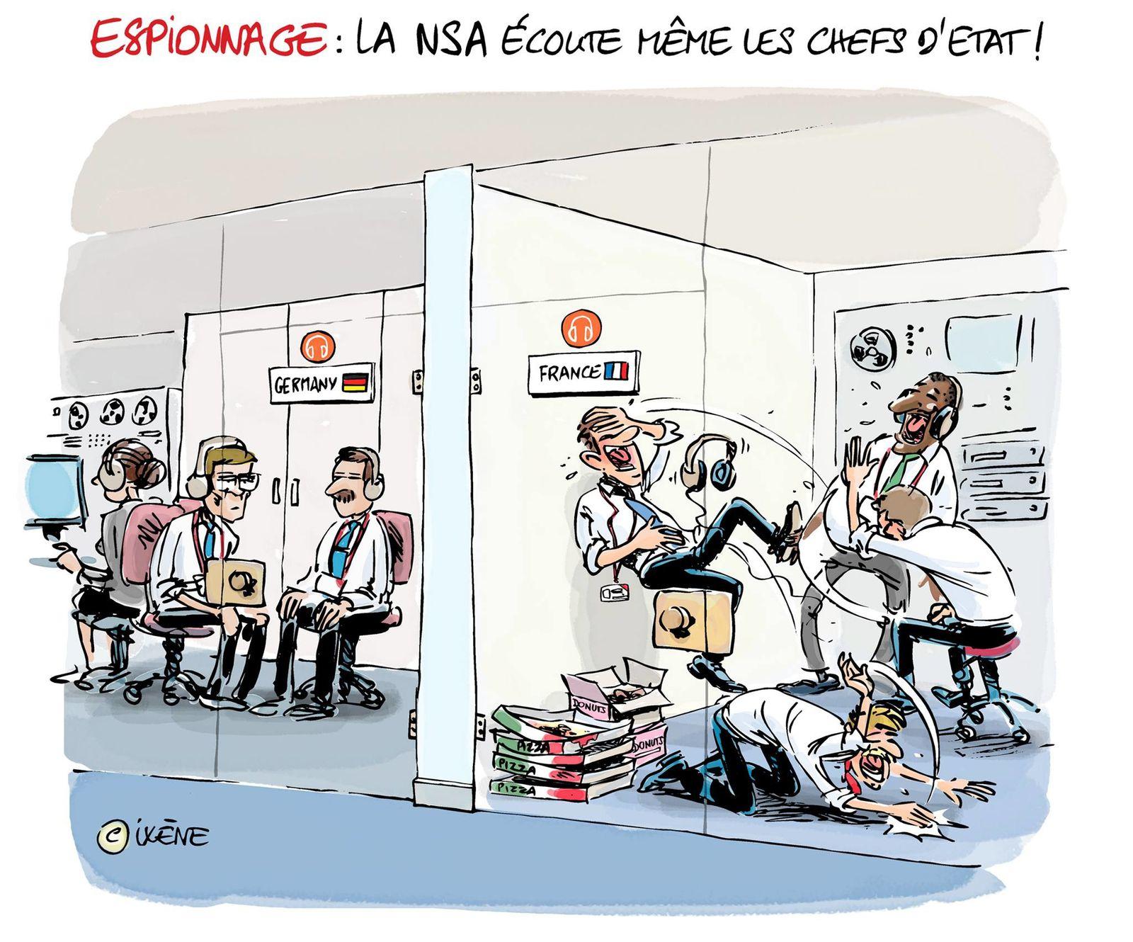 Les écoutes de la NSA ...