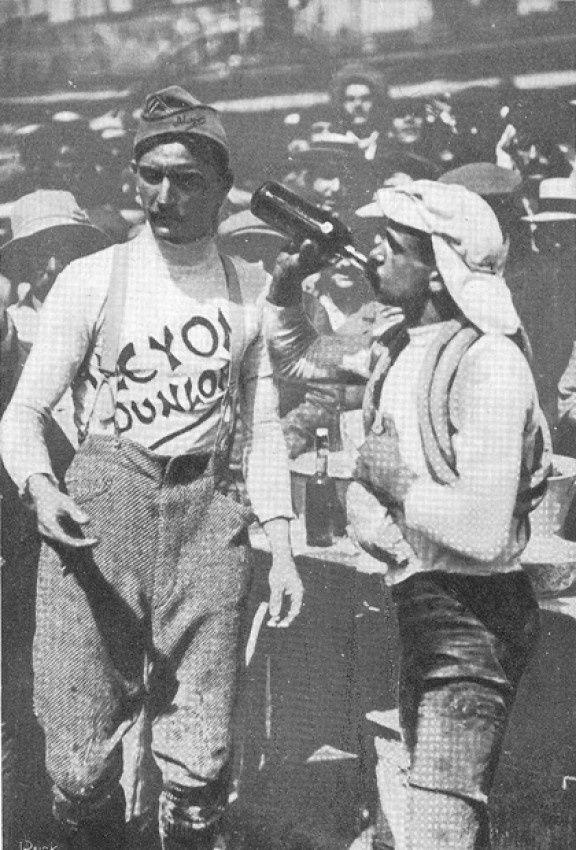 Gustave Garrigou, grand vainqueur du Tour 1911 - Garrigou n'aura laissé qu'à deux reprises la tête du classement général pendant la 2nd et 3ème étape du Tour 1911. © Presse Sports
