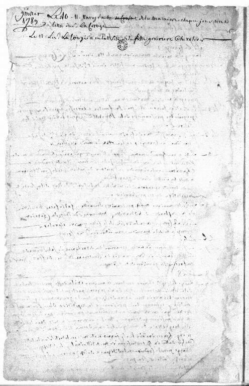 Dernier témoignage de l'Ancien Régime, le registre d'écrou de la prison de la Bastille