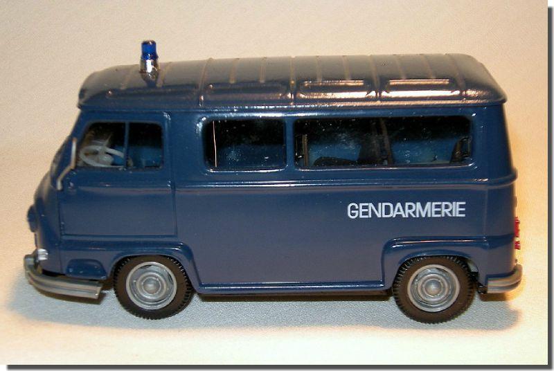 Histoire des voitures de gendarmerie
