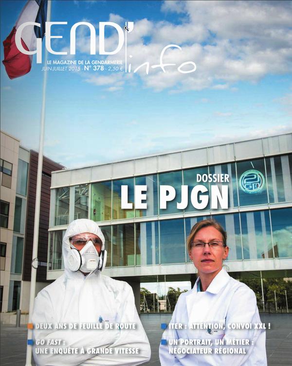 Au cœur du nouveau Pôle judiciaire de la gendarmerie nationale (PJGN) à Pontoise et de son infrastructure ultramoderne.