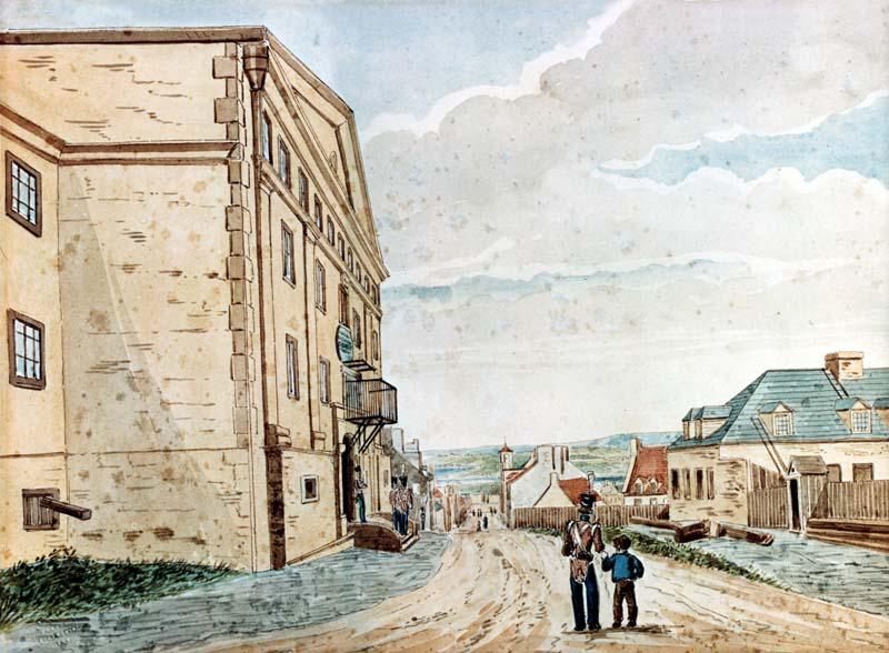 La prison commune de Québec (1812-1868)