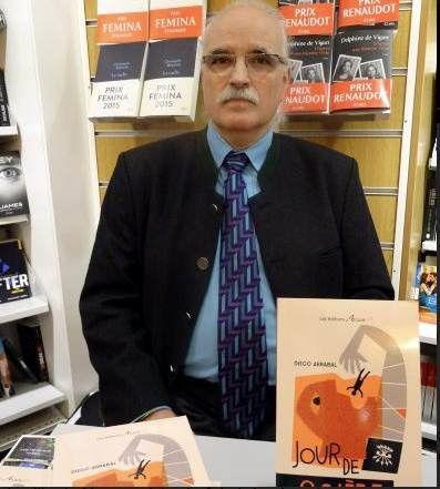 """194 – Portrait du jour : Diego Arrabal, universitaire et écrivain, auteur de """"Jour de colère"""""""