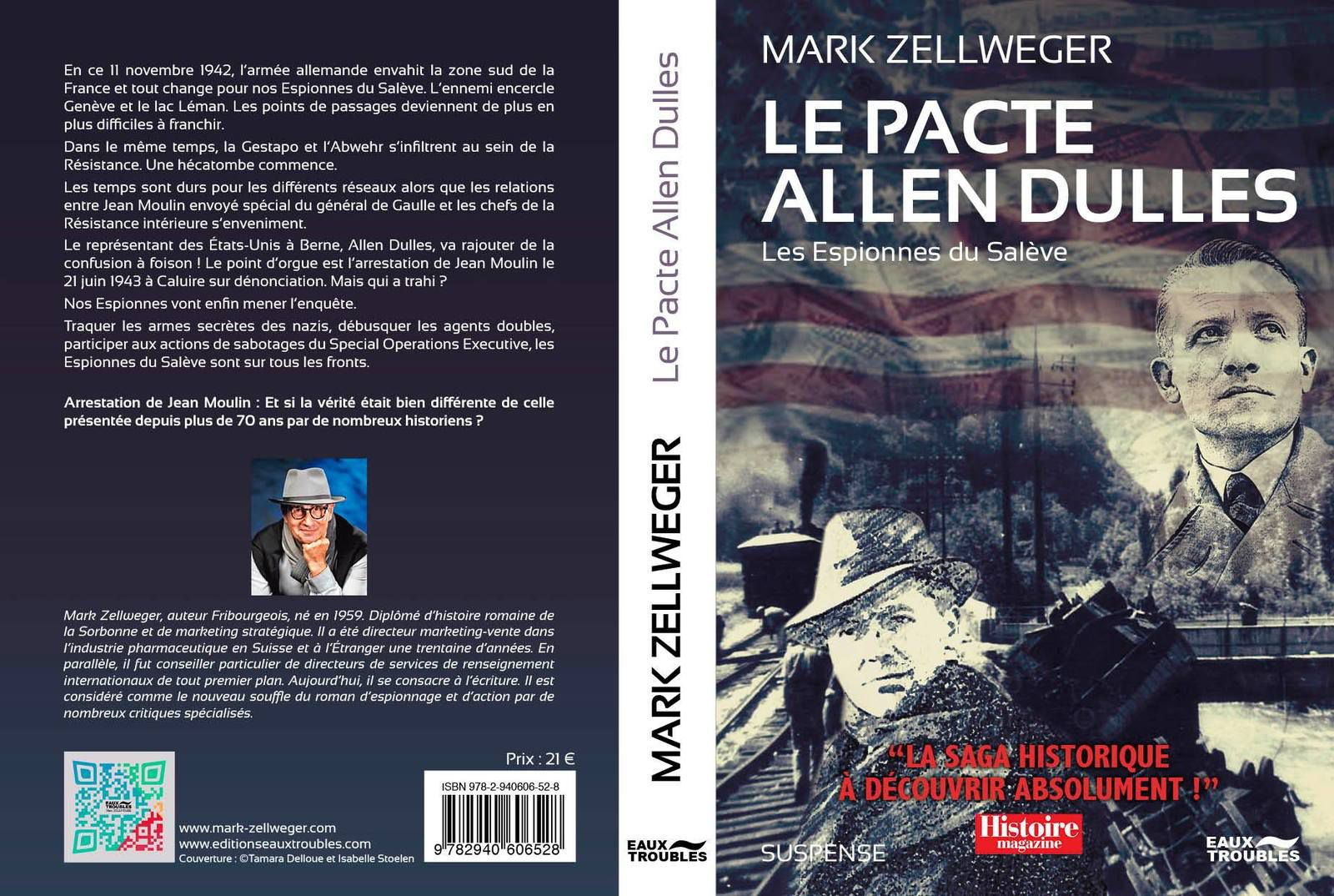 Les Espionnes du Salève T3, Le Pacte Allen Dulles, inédit arrive le 7 mai (Mark Zellweger)