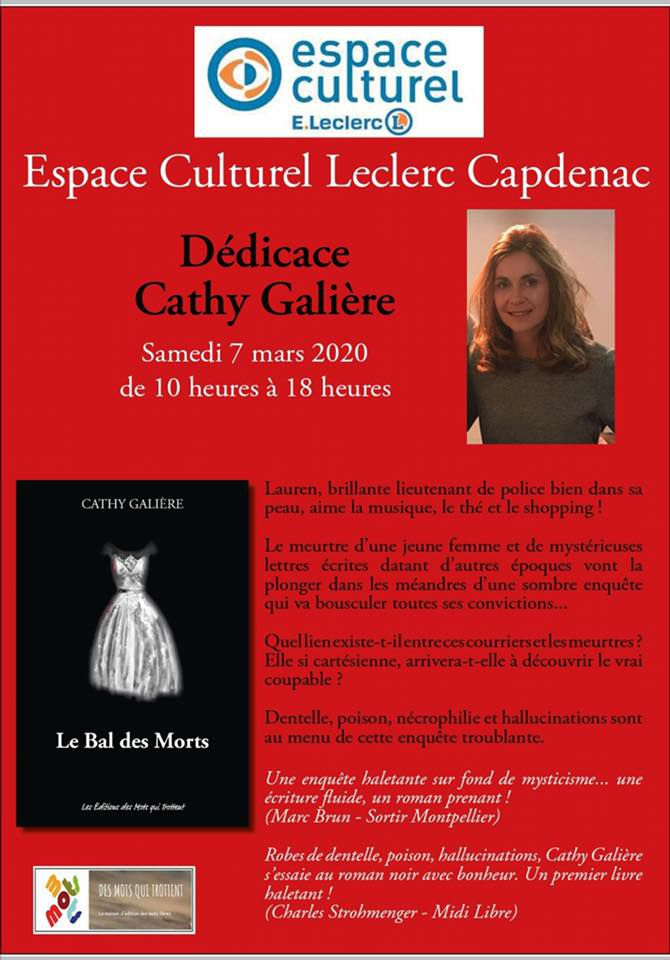 """""""Le Bal des morts"""", de Cathy Galière"""