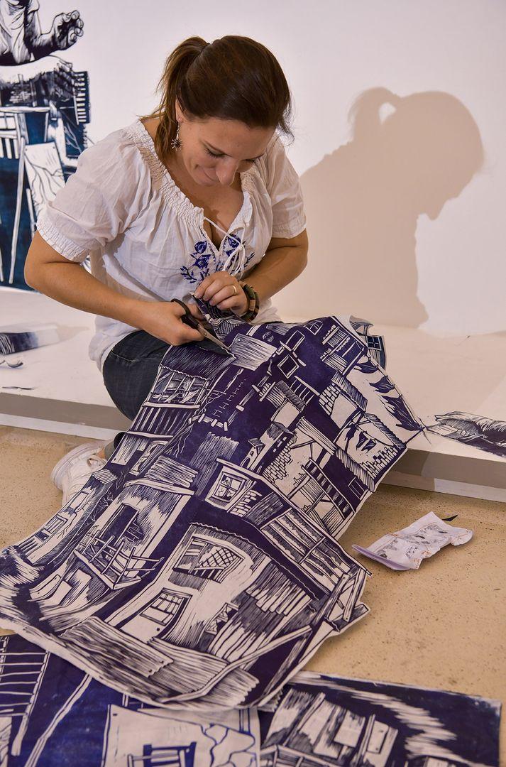 Un documentaire de Lea Torreadrado sur l'exposition d'Olivia Paroldi à Aubagne