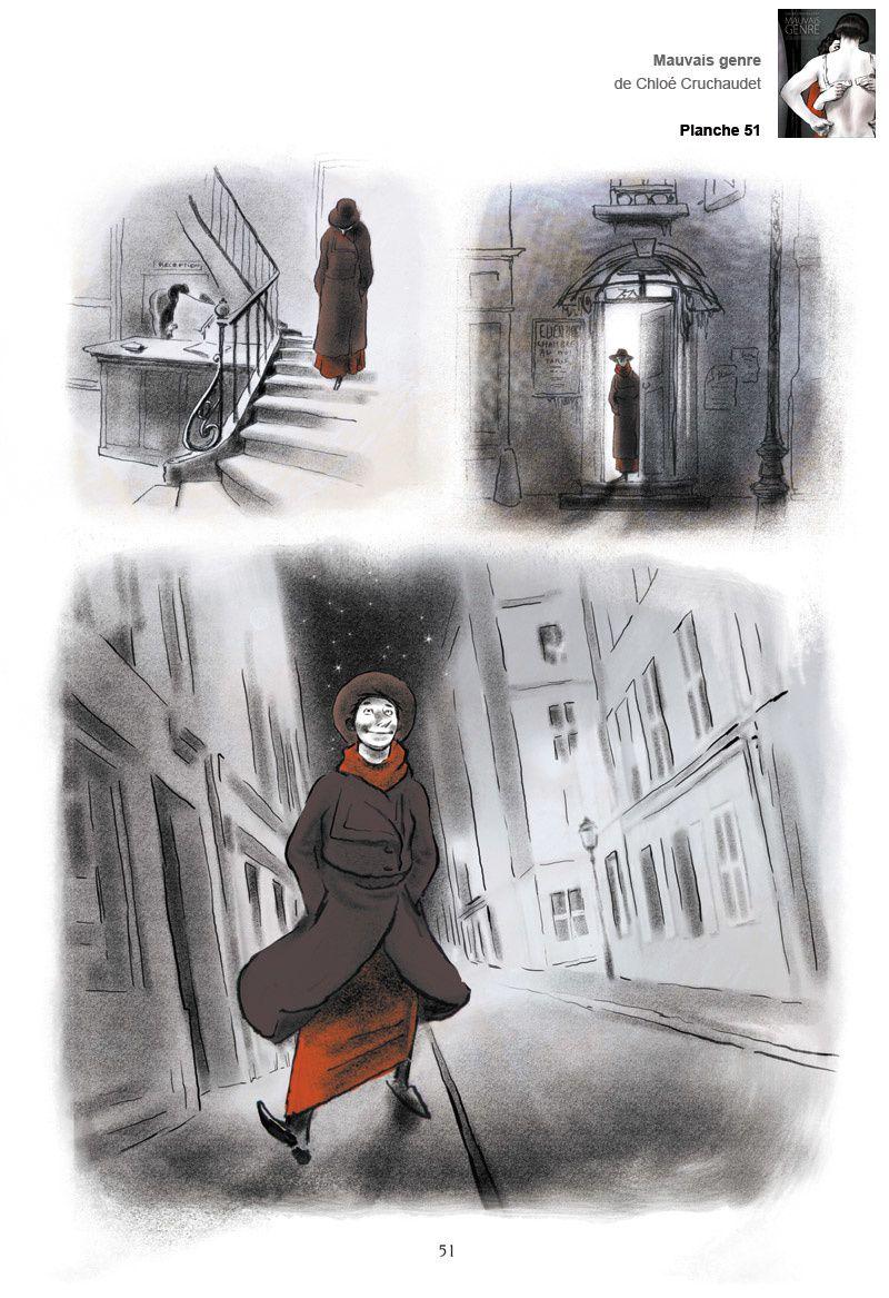 """Mauvais genre"" de Chloé Cruchaudet"