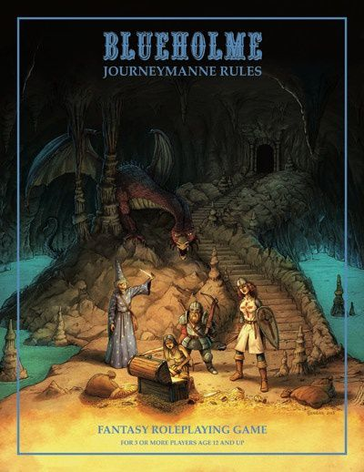 "BLUEHOLME, ""The Journeymanne Rules"""