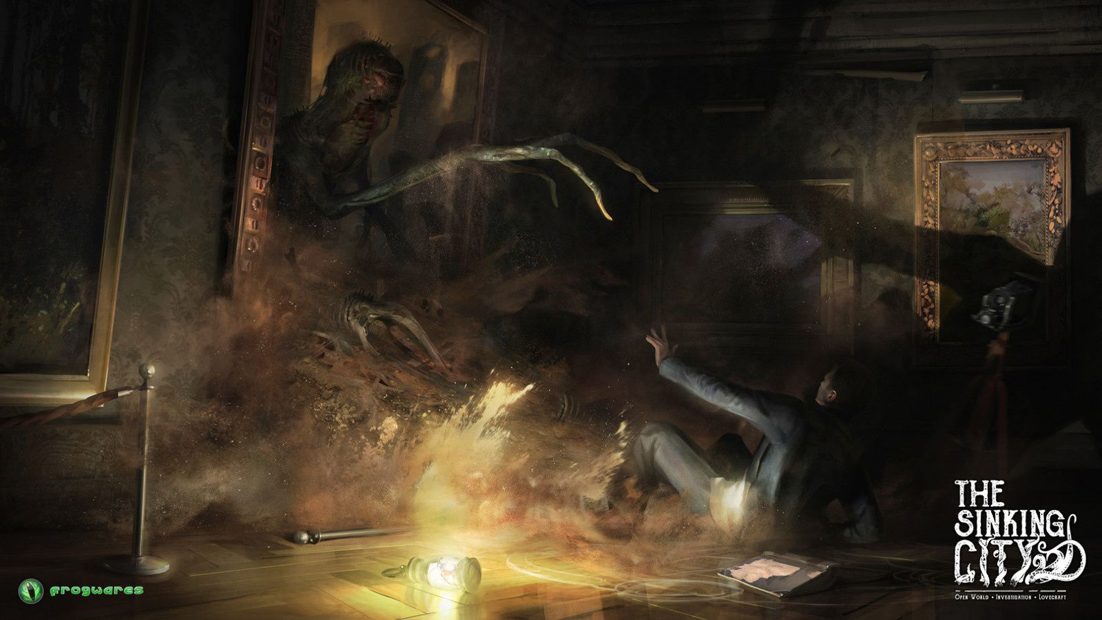 """""""The Sinking City"""" - quand Cthulhu vient infecter ton PC"""