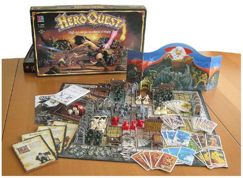 Heroquest Revival vs Lego Heroquest