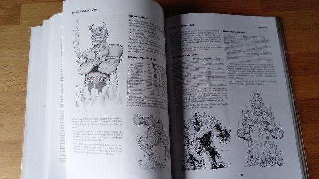 Basic Fantasy en français : imprimer soi-même le livre de base