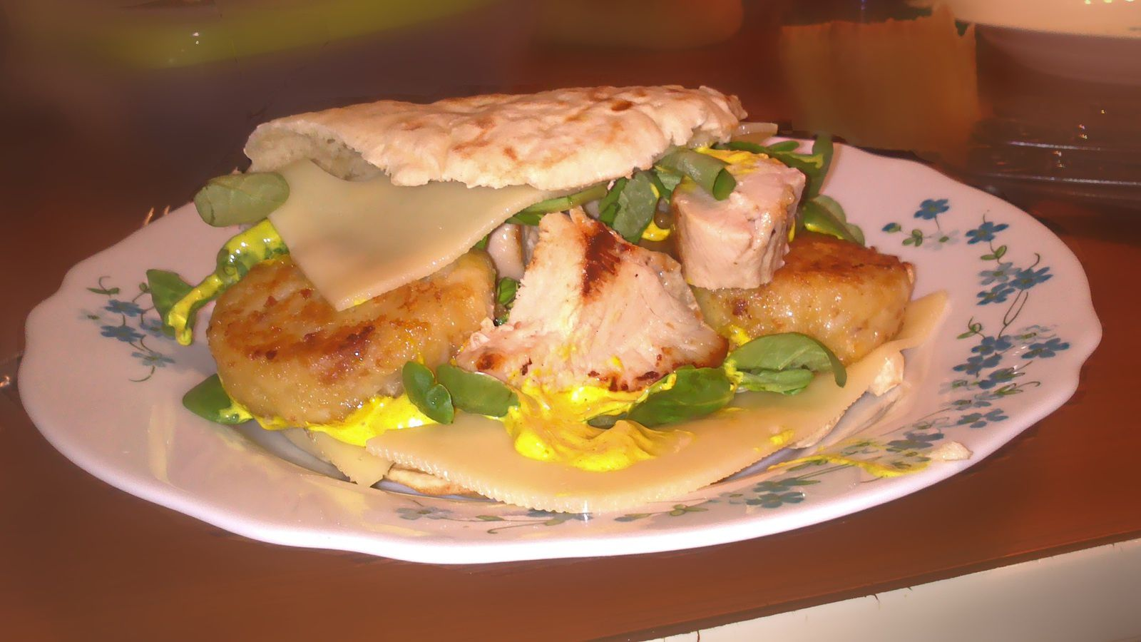 recette sandwich pain pita