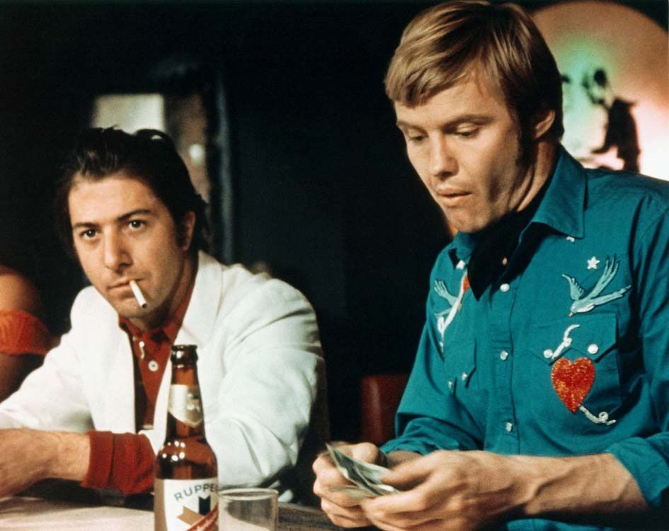 Midnight cowboy 1969 avec 7 nominations et 3 Oscars