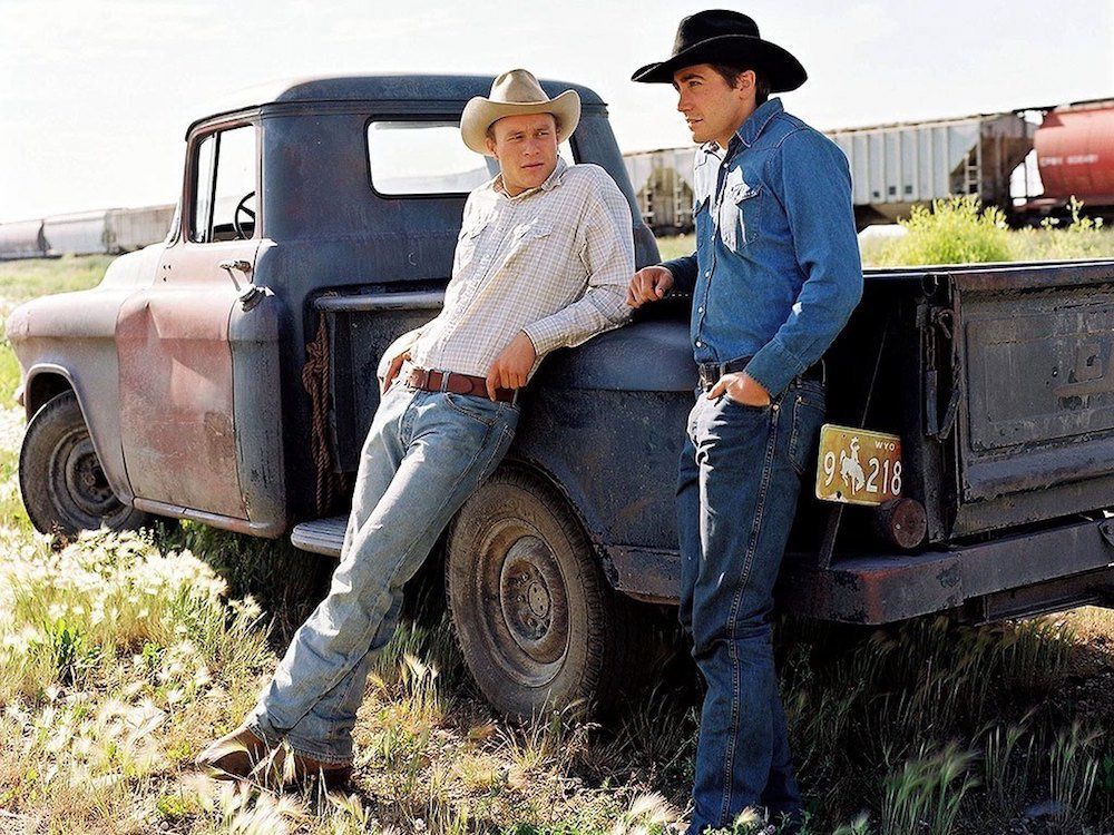 Le secret de Brokeback mountain 2005 avec 8 nominations et 3 Oscars