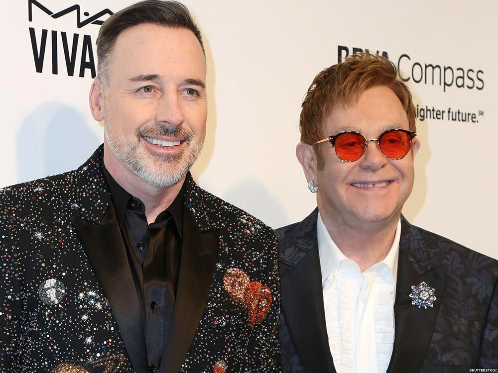 Elton John (70 ans) et David Furnish (54 ans)