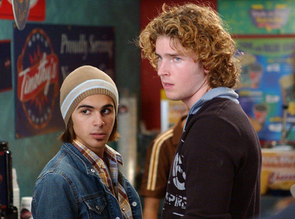 """Marco et Dylan """"Degrassi, next génération"""" 2004"""