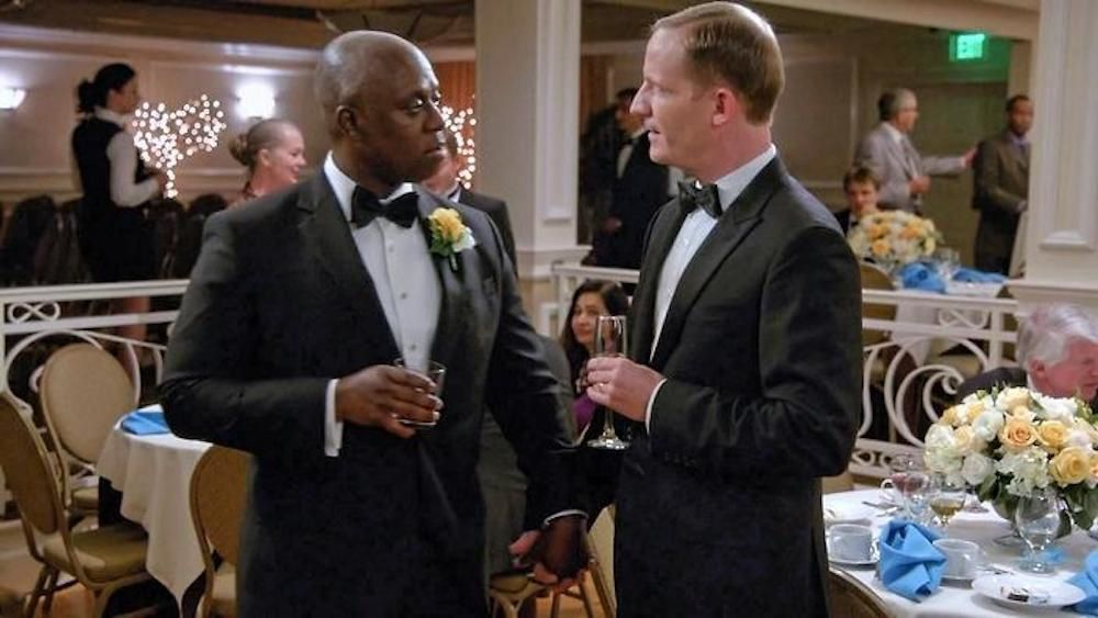 "Ray et Kevin ""Brooklyn 99"" 2014"