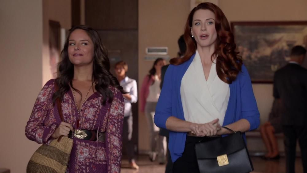 "Luisa et Rose ""Jane the virgin"" 2014"