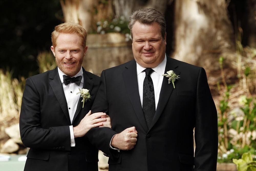 "Mitch et Cam ""Modern family"" 2010"