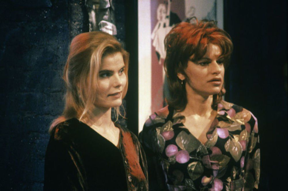 "Nancy et Sharon ""Roseanne"" 1994"