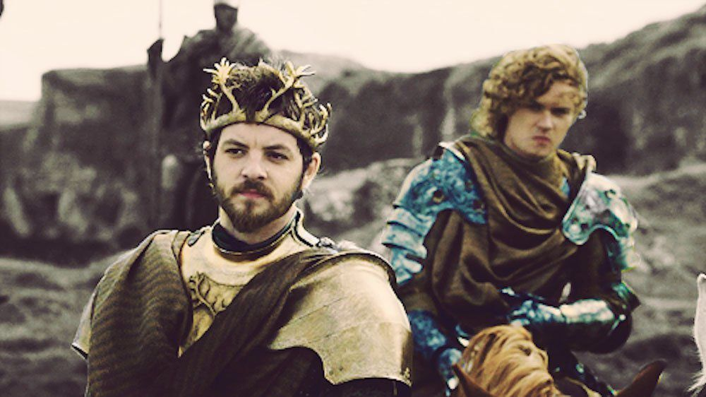 "Loras et Renly ""Game of thrones"" 2011"