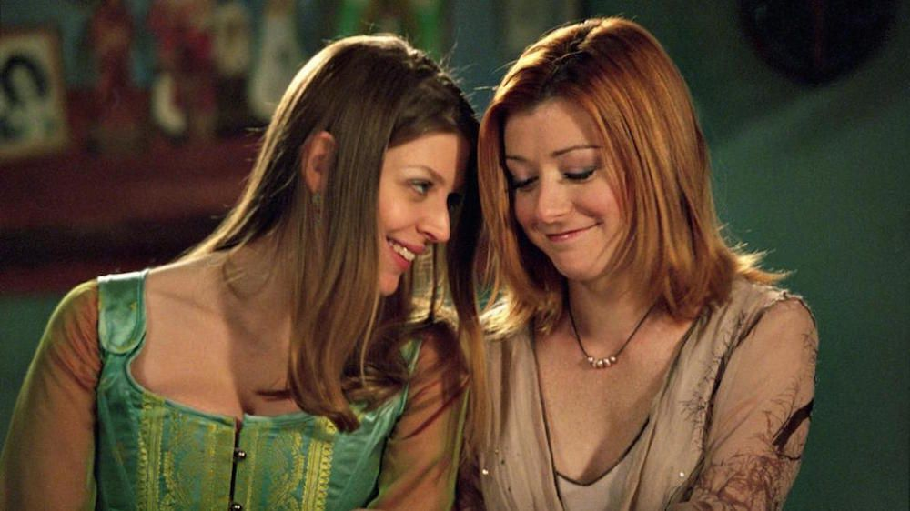 "Willow et Tara ""Buffy"" 2000"