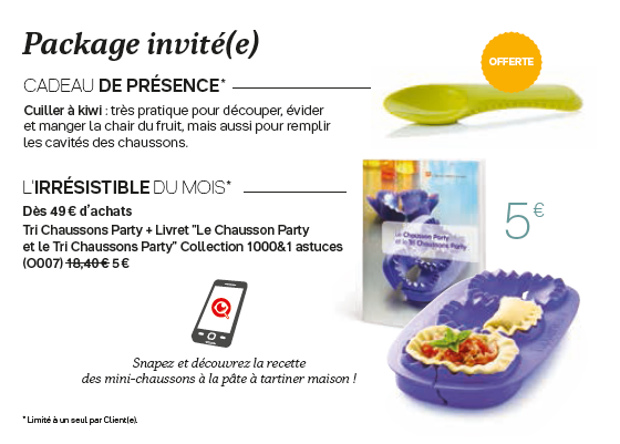 Package invité(e) avril 2020
