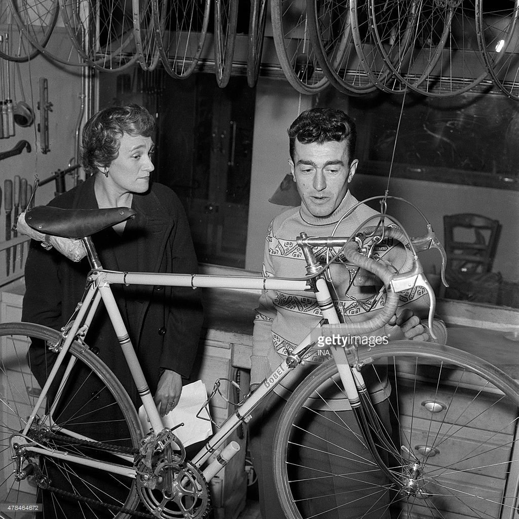 Vélo de course Louison BOBET 1955 (2).