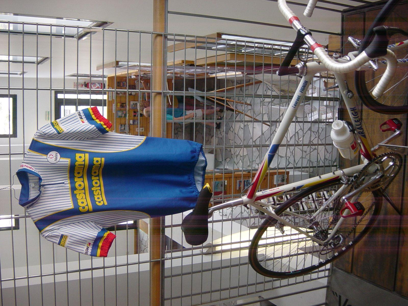 Vélo Raleigh 1993 ayant appartenu à Laurent FIGNON.