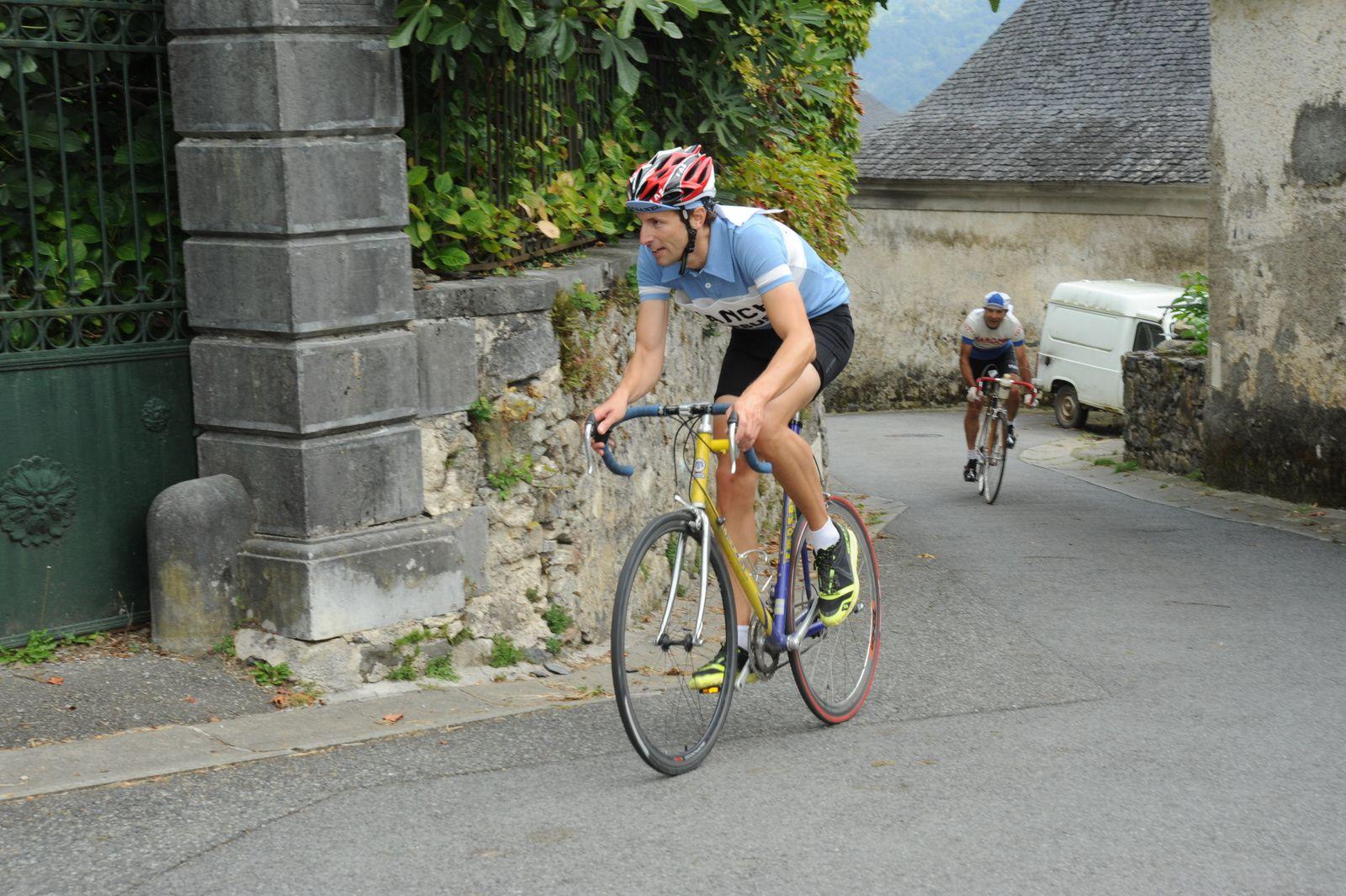 Fête du vélo à Bilhères en Ossau (64).
