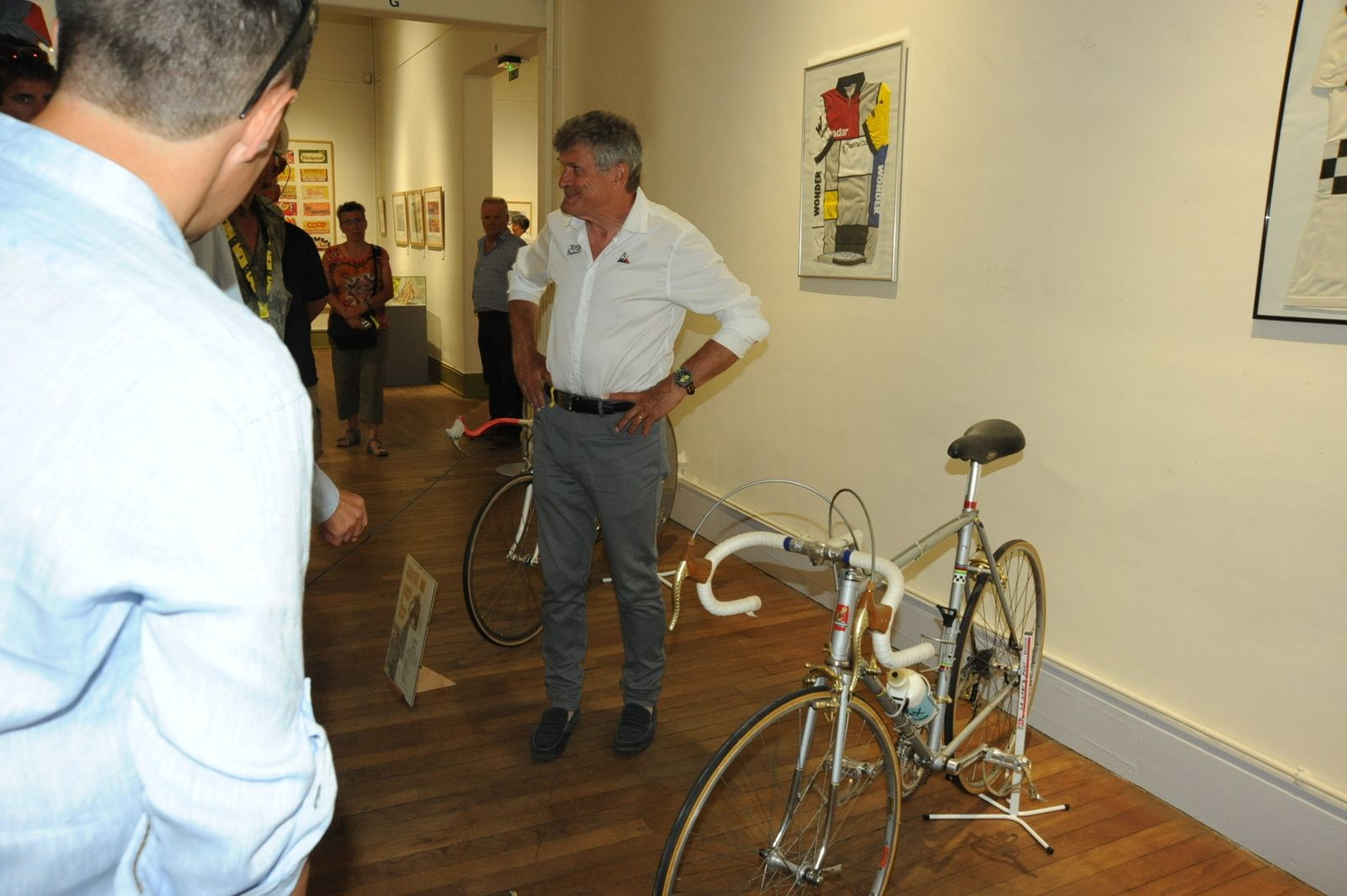 Vernissage exposition (28/07/2019) TDF & Vuelta 2019.