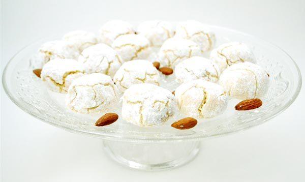 Biscotti di Mandorle Morbidi – Petits Moelleux aux Amandes