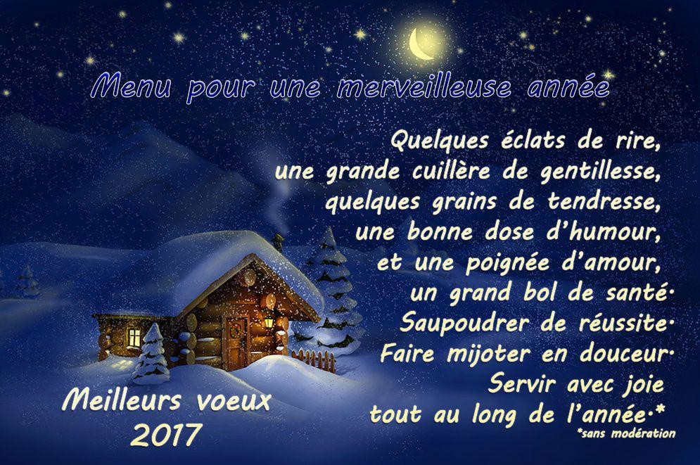 QUE CETTE ANNEE 2017 SOIT POUR TOUS ET TOUTES LUMIÈRE ET PAIX!!!