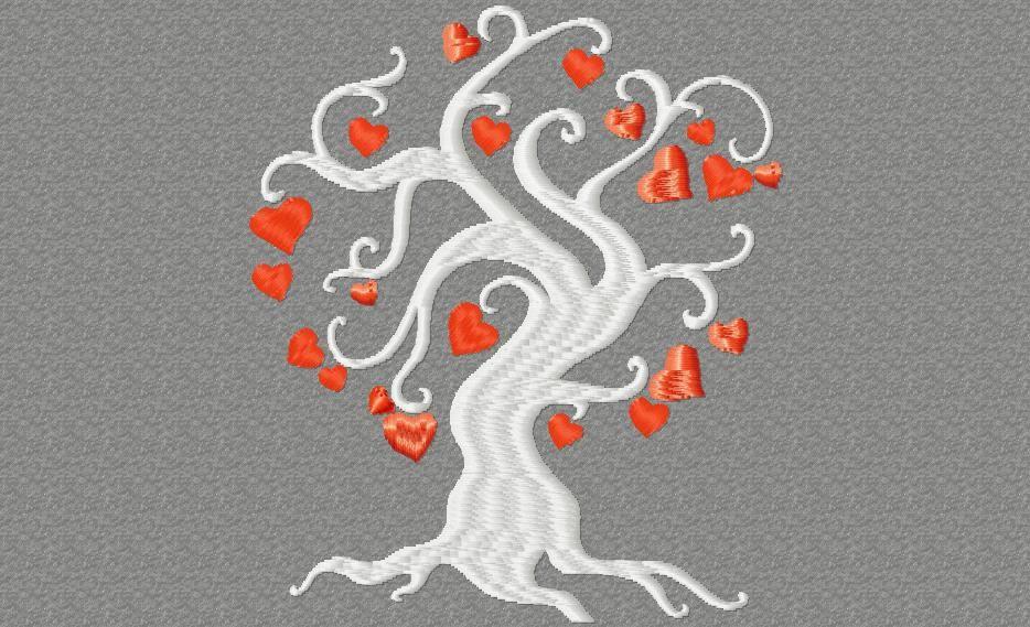 arbre à cœurs /  2