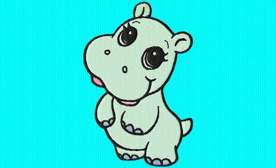 petit hippopotame