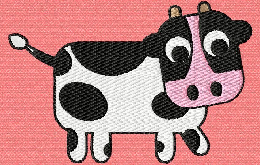 une petite vache