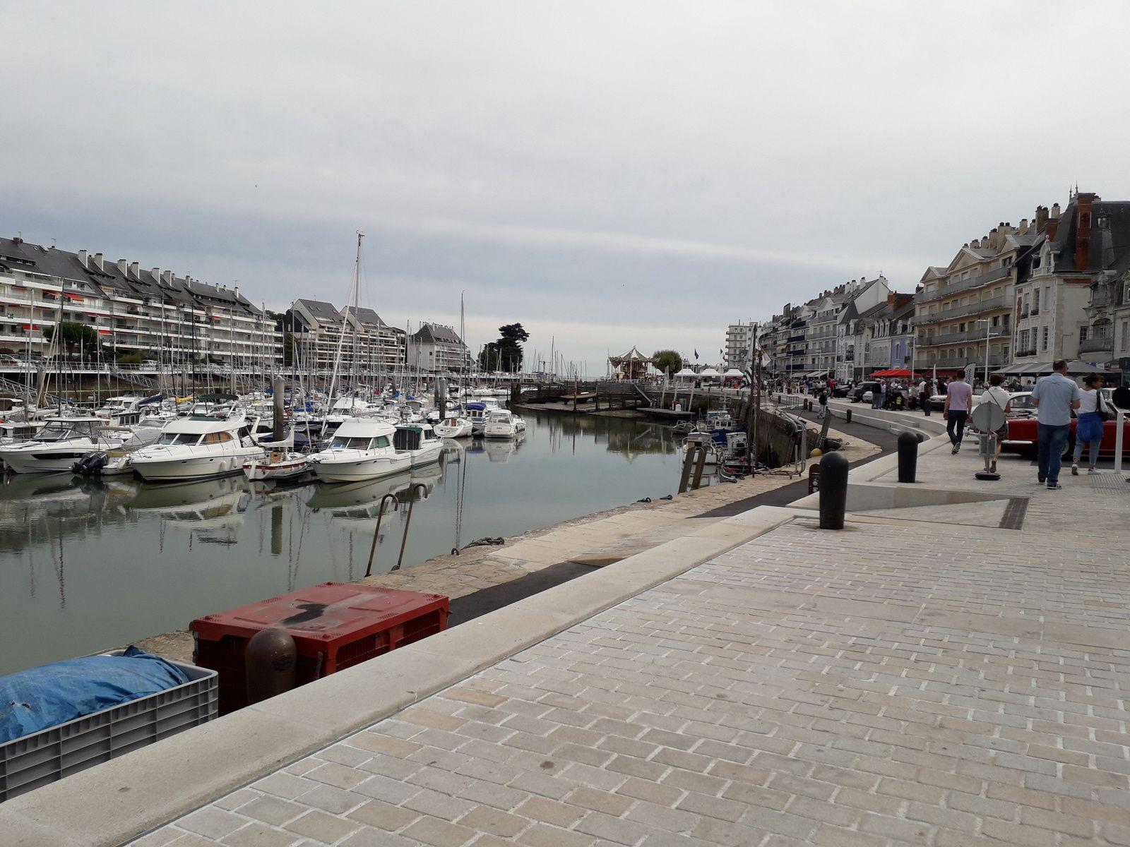 promenade du port du Pouliguen