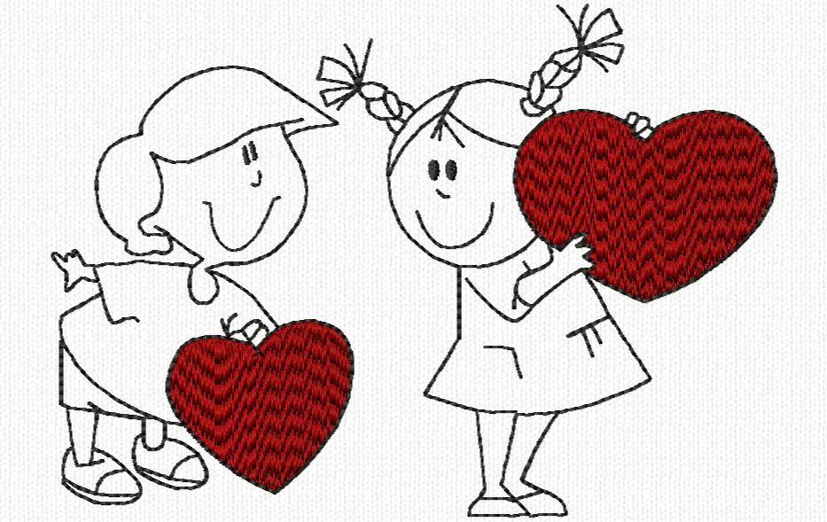 petit couple (St Valentin)
