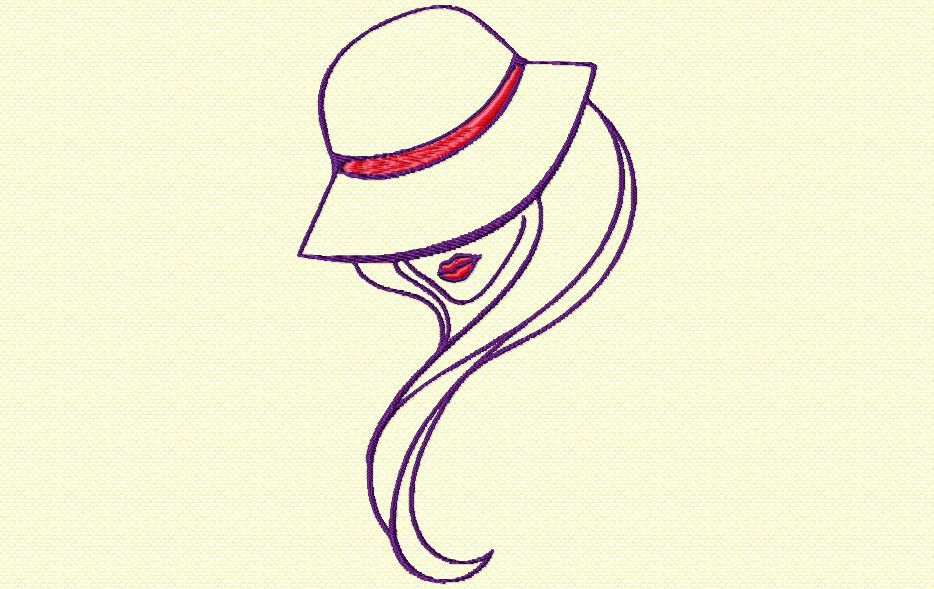 la femme au chapeau