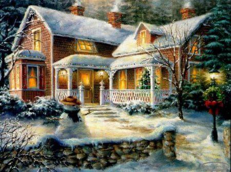 Paysage de neige...