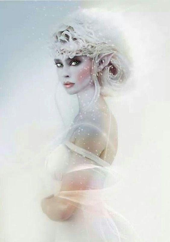 Femme elfe...