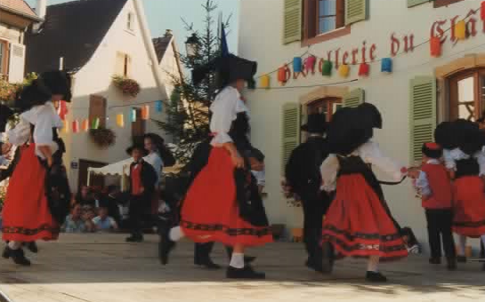 Danse local en Alsace 1996